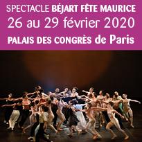 Paris Béjart fête Maurice du 26 au 29 février