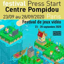 8ème édition du festival Press Start festival du jeux vidéo