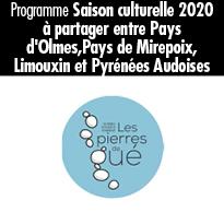 Aude et Ariège 3ème saison culturelle Les pierres de gué