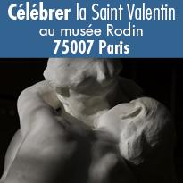 Célébrez la St Valentin au musée Rodin à Paris