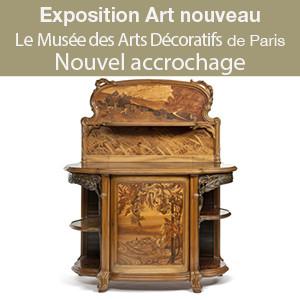 Nouvel accrochage dédié aux collections Art nouveau