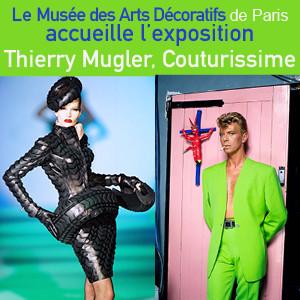 Exposition «Thierry Mugler.: Couturissime.» au Musée des Arts Décoratifs