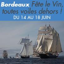 Bordeaux<br>Fête le Vin<br>toutes voiles<br>dehors !