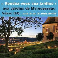 « Rendez-vous<br>aux jardins»<br>aux Jardins<br>de Marqueyssac<br>Vézac (24)