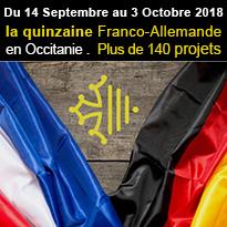 Quinzaine<br>franco-allemande<br>en Occitanie