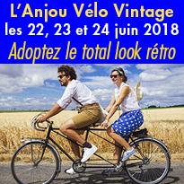 8e édition<br>de l'Anjou<br>Vélo Vintage