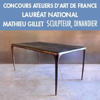 le Concours Ateliers d'Art de France. Catégorie : Création