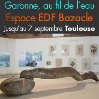 Exposition<br>Garonne,<br>au fil de l'eau<br>Espace EDF Bazacle<br>Toulouse (31)<br>
