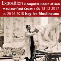 Exposition<br>Auguste Rodin<br>et son mouleur<br>Paul Cruet