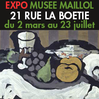 L'exposition<br>21 rue La Boétie<br>60 chefs- d'œuvre<br>Musée Maillol<br>Paris 75007
