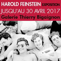 Exposition<br>Harold Feinstein<br>Galerie Bigaignon<br>75003 Paris