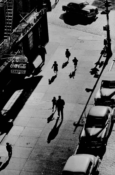 CL-003 125th Street From Elevated Train, 1950