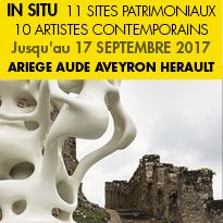 IN SITU<br>PATRIMOINE<br>ET ART CONTEMPORAIN<br>Du 17 Juin au 17 Sept  2017