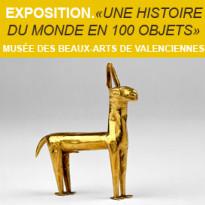 Exposition<br>aux Beaux-Arts<br>de Valenciennes