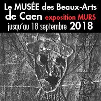 Exposition MURS<br>Musée<br>des Beaux-Arts<br>de Caen