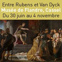 Exposition<br>Entre Rubens<br>et Van Dyck<br>Musée de Flandre