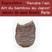 Exposition<br>Fendre l'air<br>Art du bambou<br>au Japon