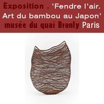 Exposition<br>Fendre l'air<br>Art du bambou<br>au Japon