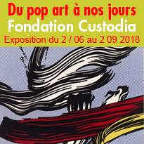 Exposition<br>à la Fondation<br>Custodia<br>Paris