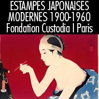 Estampes<br>japonaises<br>modernes<br>1900-1960