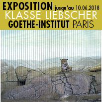 Exposition<br>KLASSE LIEBSCHER<br>Goethe-Institut<br>Paris