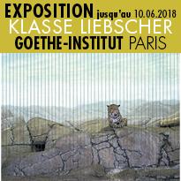 Exposition<br>KLASSE LIEBSCHER<br>Goethe-Institut<br>Paris