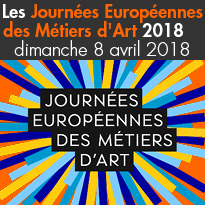 Dimanche 8 avril<br> Journées<br>Européennes<br>des Métiers<br>d'Art