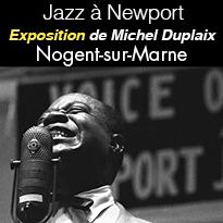 Exposition<br>Jazz<br>à Newport<br>Nogent-sur-Marne
