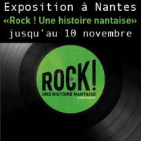Exposition<br>Rock !<br>Une histoire nantaise