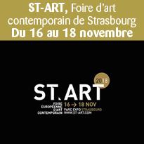 Foire<br>d'art<br>contemporain<br>de Strasbourg