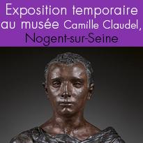 Exposition<br>au musée<br>Camille Claudel<br>Nogent-sur-Seine