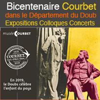 Bicentenaire Courbet<br>dans le Département<br>du Doubs
