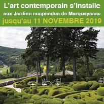 Exposition<br>d'Art<br>contemporain<br>Marqueyssac