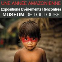 Muséum<br>Toulouse<br>immersion<br>en forêt<br>amazonienne