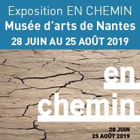 Cet été<br>Exposition<br>En chemin<br>à Nantes