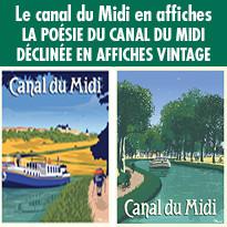 Le canal du Midi en affiches