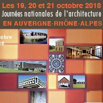 EN AUVERGNE<br>RHÔNE-ALPES<br>FAIRE NAîTRE<br>UN DÉSIR<br>D'ARCHITECTURE !