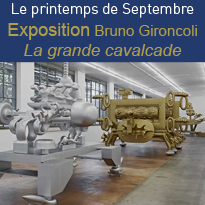 EXPOSITION<br>Bruno Gironcoli<br>Toulouse