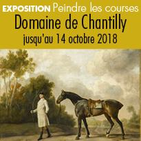 Exposition<br>Domaine<br>de Chantilly<br>Peindre<br>les courses