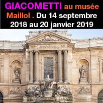 Giacometti<br>au musée Maillol<br>à Paris