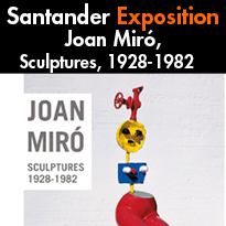 Expo<br>Joan Miró<br>Sculptures<br>1928-1982<br>Santander