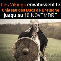 Les Vikings<br>envahissent<br>le Château<br>des Ducs<br>de Bretagne