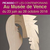 Exposition<br>Picasso<br>et les Contemporains<br>Musée de Vence