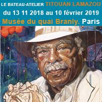 Exposition<br>Le Bateau-atelier<br>de Titouan Lamazou