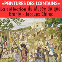 Lumière<br>sur la collection<br>de peintures<br>conservée<br>au musée du quai Branly