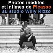 Picasso<br>dans l'œoeil<br>de Willy Rizzo