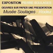 Exposition<br>Pierre Soulages<br>Rodez