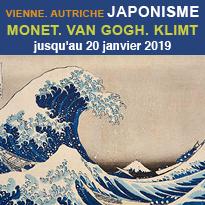 Exposition<br>JAPONISME<br>Vienne<br>Autriche