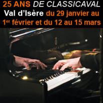 Val d'Isère<br>25ème édition<br>festival Classicaval