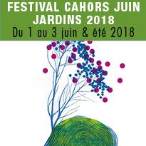 festival<br>Cahors<br>Juin<br>Jardins